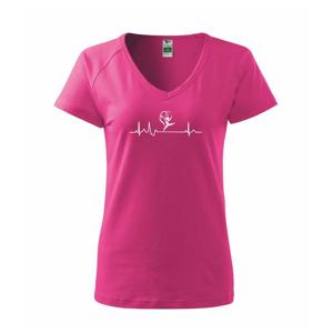 EKG synchronizované plávanie - Tričko dámske Dream