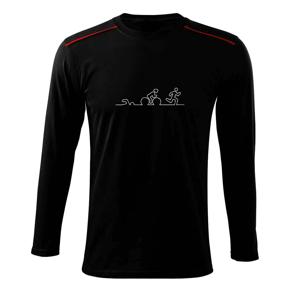 EKG triatlon - Tričko s dlhým rukávom Long Sleeve
