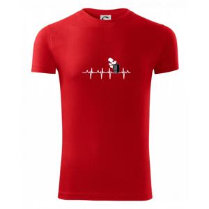 EKG udiareň - Viper FIT pánske tričko