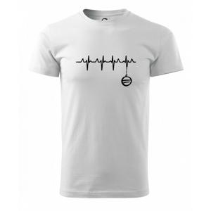 EKG Vianočná ozdoba - Tričko Basic Extra veľké