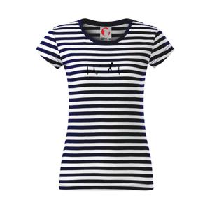 EKG vrh kladivom - Sailor dámske tričko