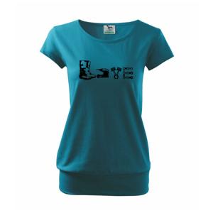 Enduro Love - Voľné tričko city