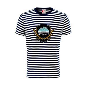 Erb - St. Hubert - Unisex tričko na vodu