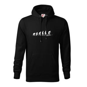 Evoluce skialpy - Mikina s kapucňou hooded sweater