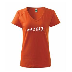 Evolúcia baseball pálkar náprah + loptička - Tričko dámske Dream
