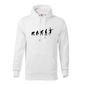 Evolúcia Bedminton - Mikina s kapucňou hooded sweater