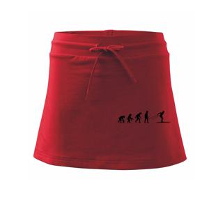 Evolúcia behu - bežky - Športová sukne - two in one