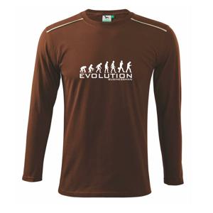 Evolúcia Businessman - Tričko s dlhým rukávom Long Sleeve
