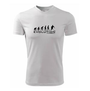 Evolúcia Floorball - Detské tričko fantasy športové tričko