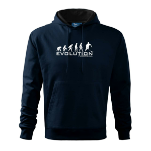 Evolúcia Floorball - Mikina s kapucňou hooded sweater