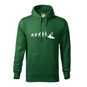 Evolúcia kajak - Mikina s kapucňou hooded sweater