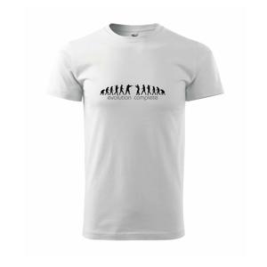 Evolúcia kopmpletná - Tričko Basic Extra veľké