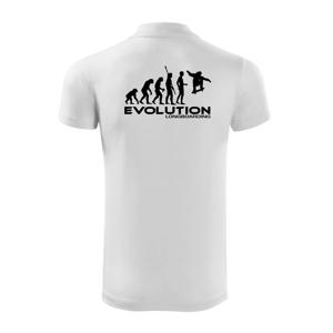 """Evolúcia longboard jump - Polokošeľa Victory """"športové"""""""