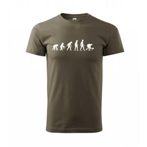 Evolúcia padel - Tričko Basic Extra veľké