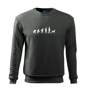 Evolúcia pes boxer (muž-žena) - Mikina Essential detská