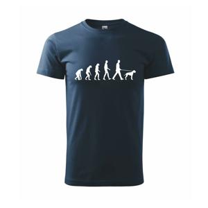 Evolúcia pes - Tričko Basic Extra veľké