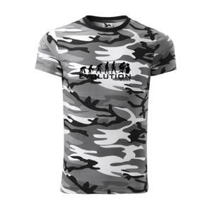 Evolúcia práce - Army CAMOUFLAGE