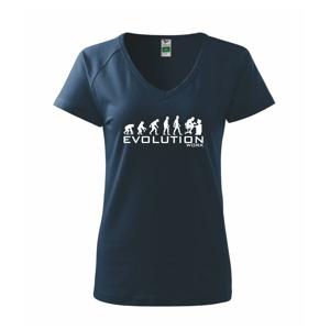 Evolúcia práce - Tričko dámske Dream