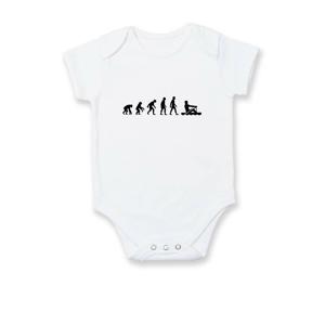 Evolúcia veslovanie 1 človek - Dojčenské body
