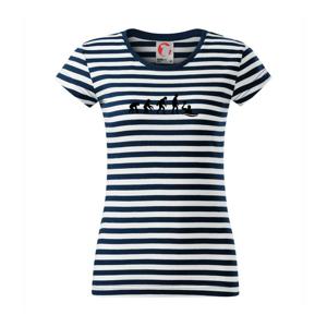 Evolúcia vodné pólo - Sailor dámske tričko