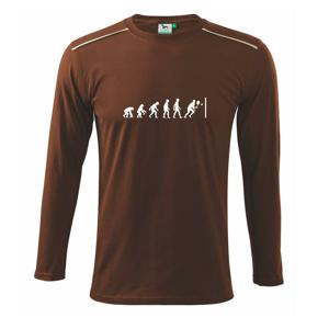 Evolution squash muž-žena - Tričko s dlhým rukávom Long Sleeve