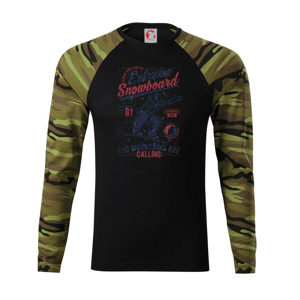 Extreme Snowboard - Camouflage LS
