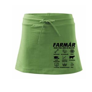 Farmár – symboly - Športová sukne - two in one