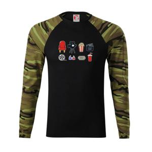 Filmové tričko - Camouflage LS