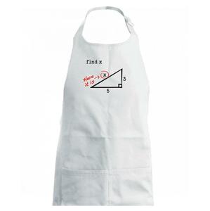 Find X - geometria - Detská zástera na varenie