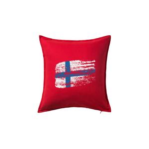 Fínsko vlajka - Vankúš 50x50