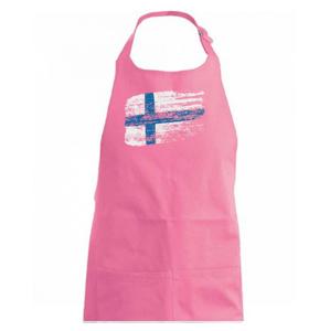 Fínsko vlajka - Zástěra na vaření