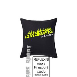 Fire team - oheň - Váš názov - Vankúš 50x50