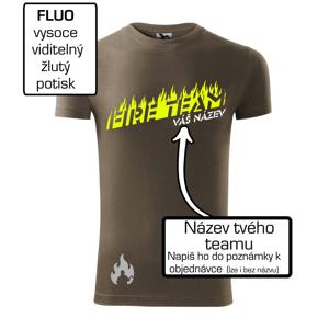 Fire team - oheň - Váš názov - Viper FIT pánske tričko