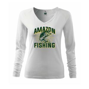 Fish fishing - Tričko dámske Elegance