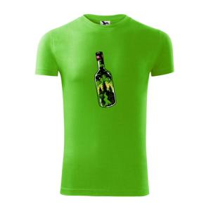 Fľaša plná dobrodružstva - Viper FIT pánske tričko