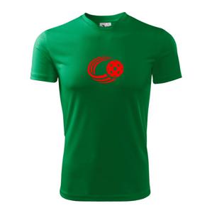 Florbal lopta - Pánske tričko Fantasy športové