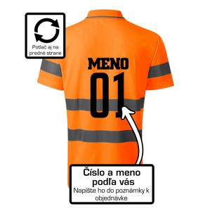 Florbalový dres - vlastné meno a číslo - HV Runway 2V9 - Reflexné polokošeľa