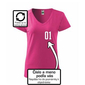 Florbalový dres - vlastné meno a číslo - Tričko dámske Dream