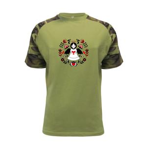 Folklór - Anjelik - Raglan Military