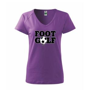Footgolf nápis - Tričko dámske Dream