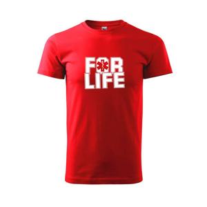 For Life - Tričko Basic Extra veľké