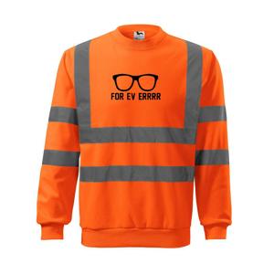 Forever - párty okularie - Reflexná mikina