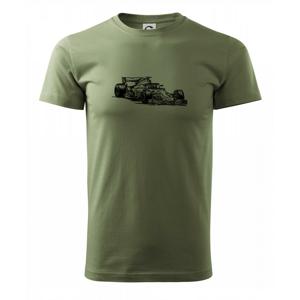 Formula v závode - Heavy new - tričko pánske
