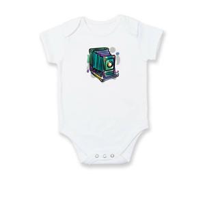 Foťák farebný starý - jedna šošovka - Dojčenské body