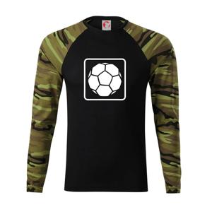 Fotbalová lopta emblem - Camouflage LS