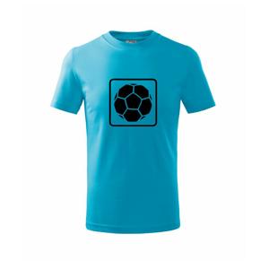 Fotbalová lopta emblem - Tričko detské basic