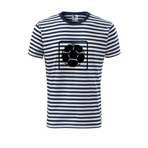 Fotbalová lopta emblem - Unisex tričko na vodu