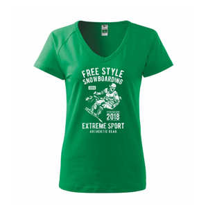 Free Style Snowboarding - Tričko dámske Dream