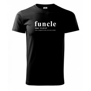 Funcle - cooler uncle - Tričko Basic Extra veľké