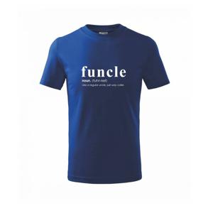 Funcle - cooler uncle - Tričko detské basic